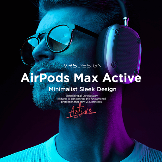 Picture of VRS DESIGN AirPods Max Active Case (Black)