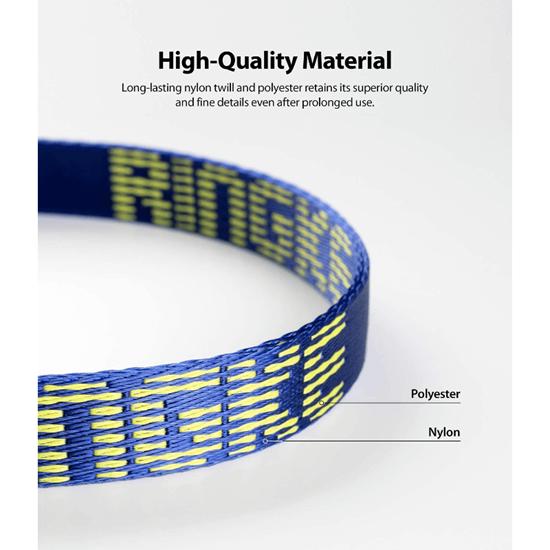 Picture of Ringke Lanyard Design Strap Lettering Shoulder Neck (Blue)