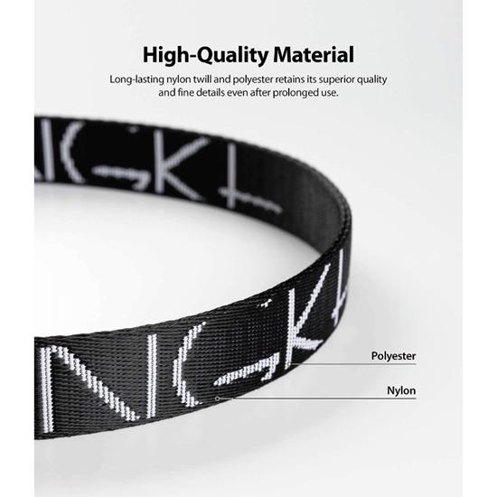 Picture of Ringke Lanyard Design Strap Lettering Shoulder Neck (Black)